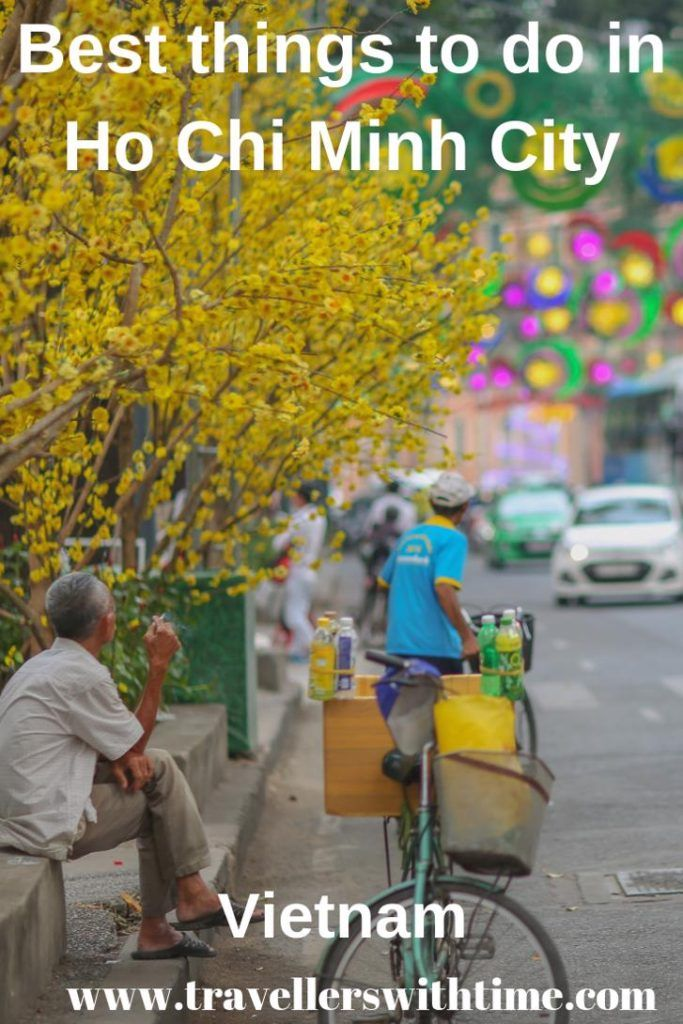 A great list of things to do in Ho Chi Minh City. From the War Remnants museum, the the Reunification Palace, to eating street food, shopping at Benh Tanh Market and so much more #vietnam #hochiminhcity #thingstodo