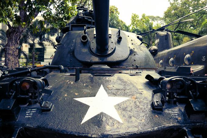 Things to do in Ho Chi Minh City - A tank at the War Remnants Museum