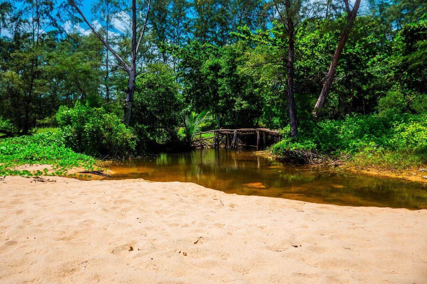 Best Beaches on Phu Quoc Island - little stream behind Cua Can beach