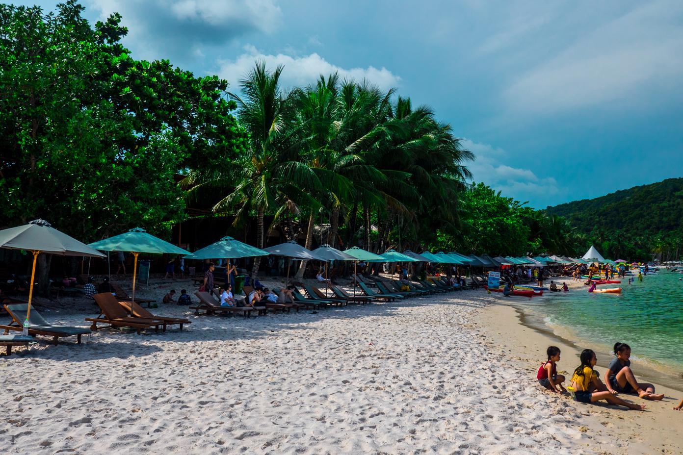 Phu Quoc Island beaches- Sao Beach Phu Quoc