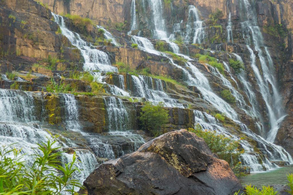 Dalat waterfalls Pongour Waterfall Dalat