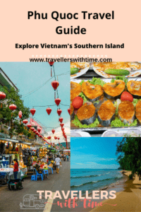 A complete guide to exploring Vietnams southern island of Phu Quoc. While Phu Quoc may not be what it used to be there is still so much to discover and beauty to be found. Find some of those idyllic beaches, visit the markets, ride a cable car or eat all the seafood you can fit! Here is everything you need to know about Phu Quoc #phuquoc #vietnam #travel #beaches #food #travelguide