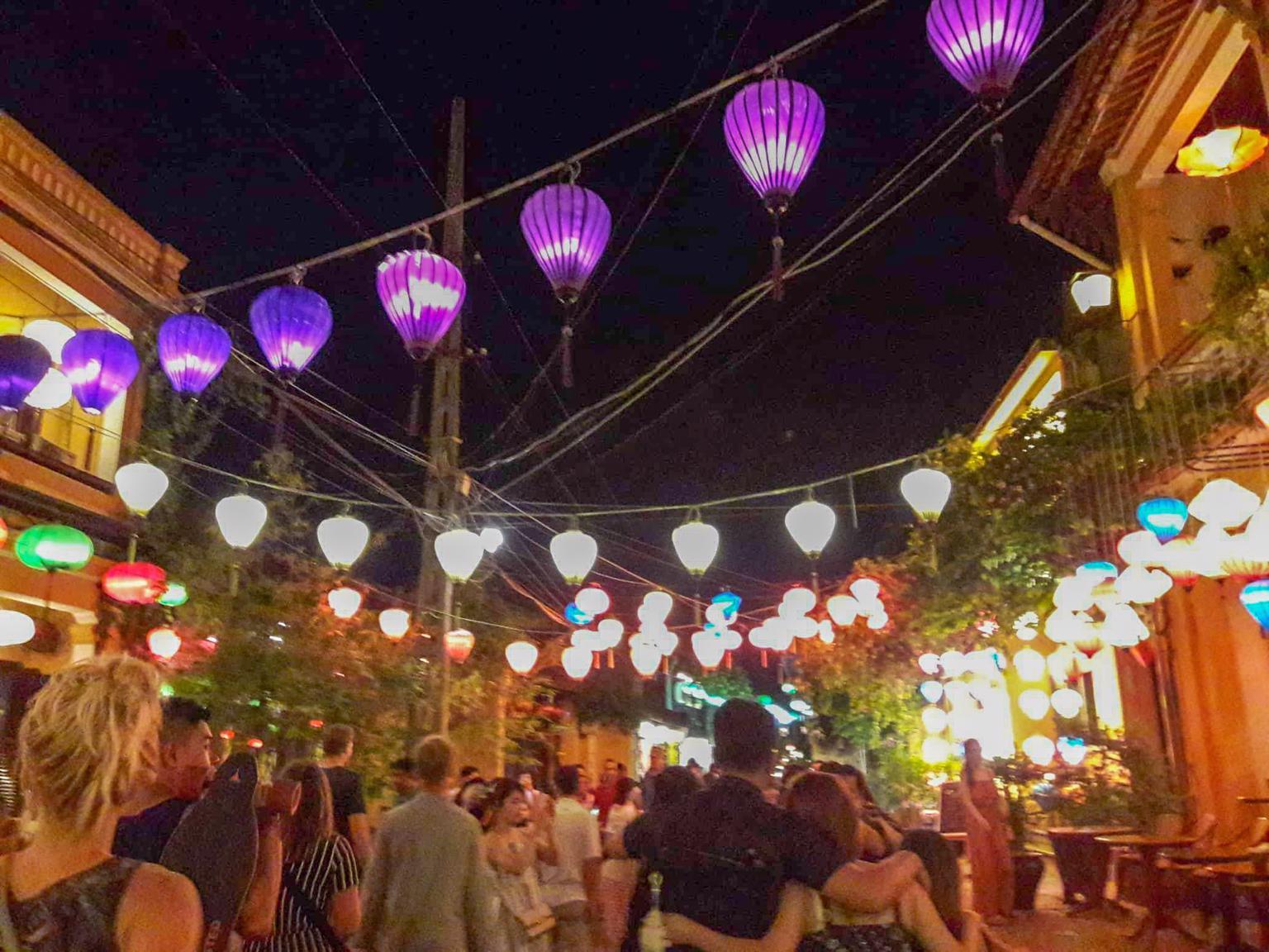 Hoi An Highlights - Hoi An Ancient Town at night