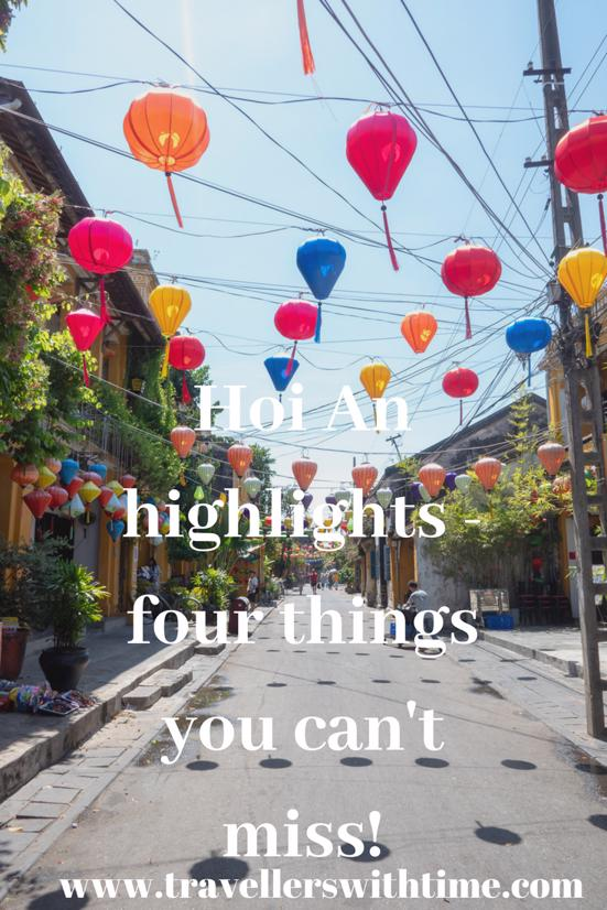 Hoi An Higlights! After spending 2.5 weeks in Hoi An we've chosen our four favourite things to do in Hoi An Ancient Town. You wont want to miss them! Interestingly our Hoi An Highlights are all free, however we've noticed there is a bit of confusion around the Hoi An Ancient Town ticket, so we've tried to clear some of that up and give you some tips on getting the most out of it. #hoian #ancienttown #vietnam