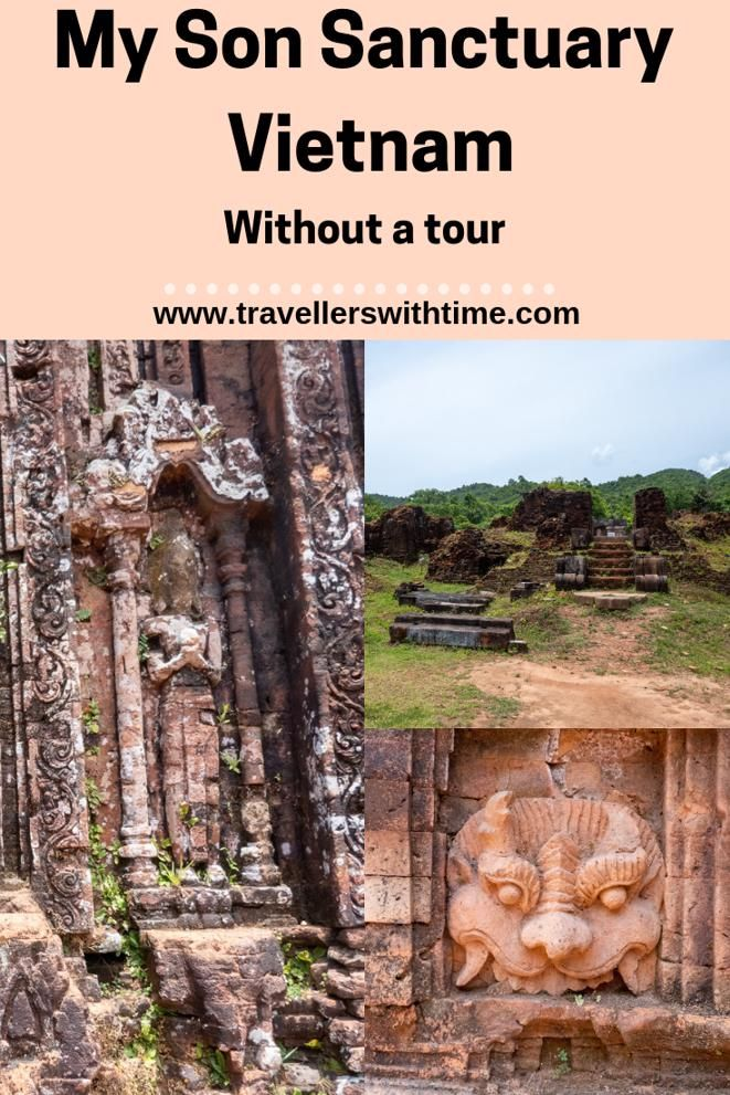 A guide to exploring the ancient Champa ruins at My Son, near Hoi An, Vietnam #vietnam #travel #temples #hoian #travellerswithtime