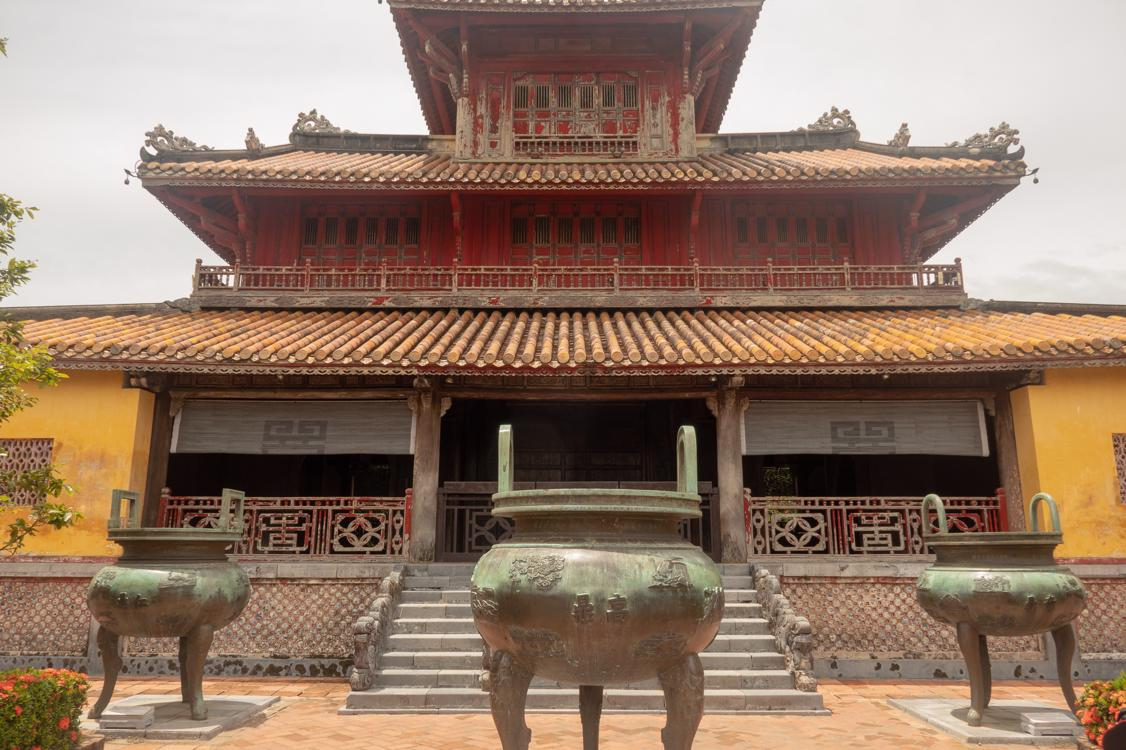 Vietnam travel tips - The Imperial City of Hue is a UNESCO world heritage site