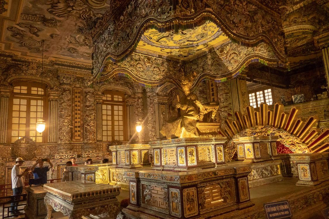 Best tombs in Hue - Tomb of Khai Dinh