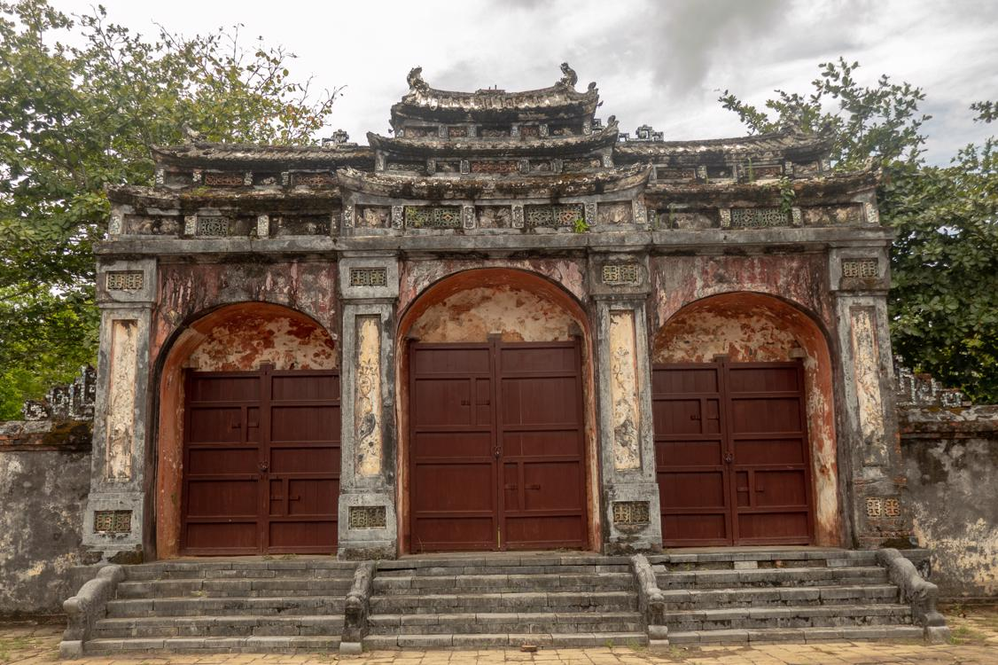 Best tombs in Hue - Entrance to Minh Mang Tomb