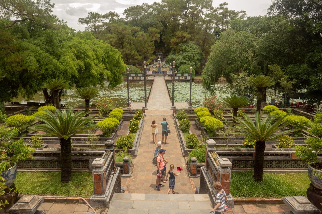 Best tombs in Hue - Minh Mang Tomb gardens