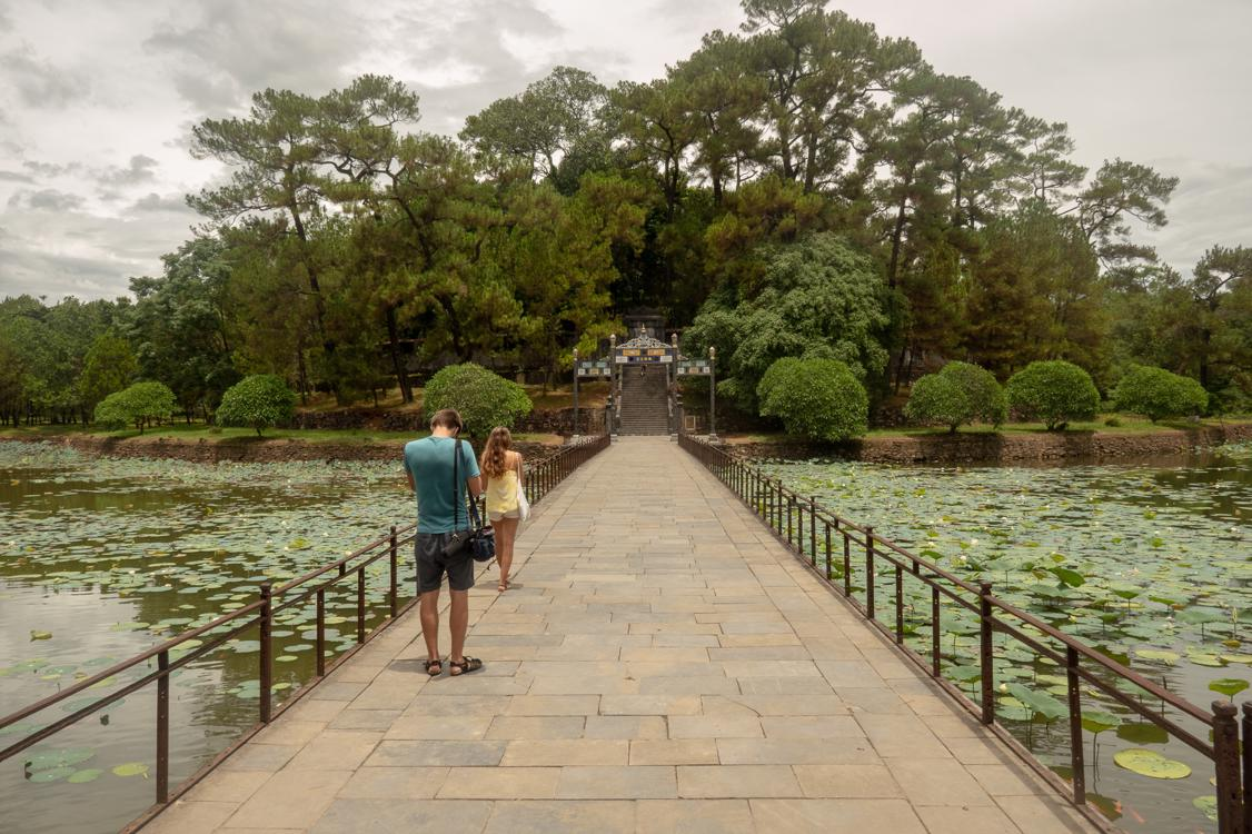 Best tombs in Hue - Minh Mang tomb