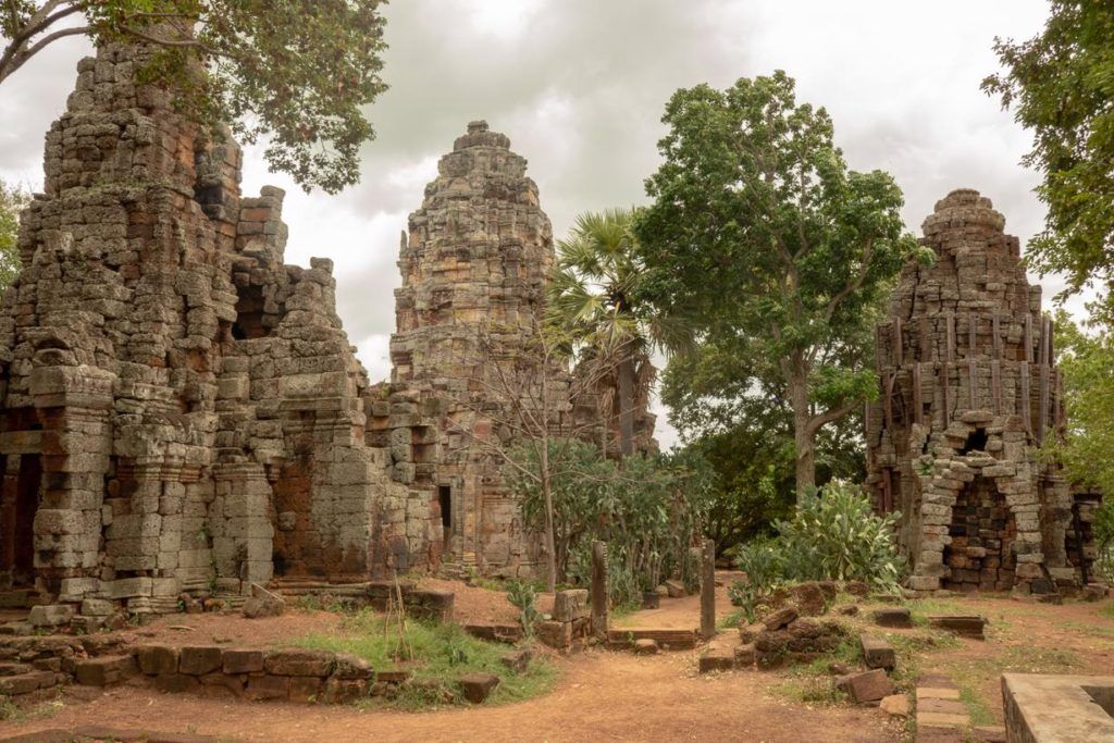 Cambodia travel tips and advice - Temples at Mt Banan
