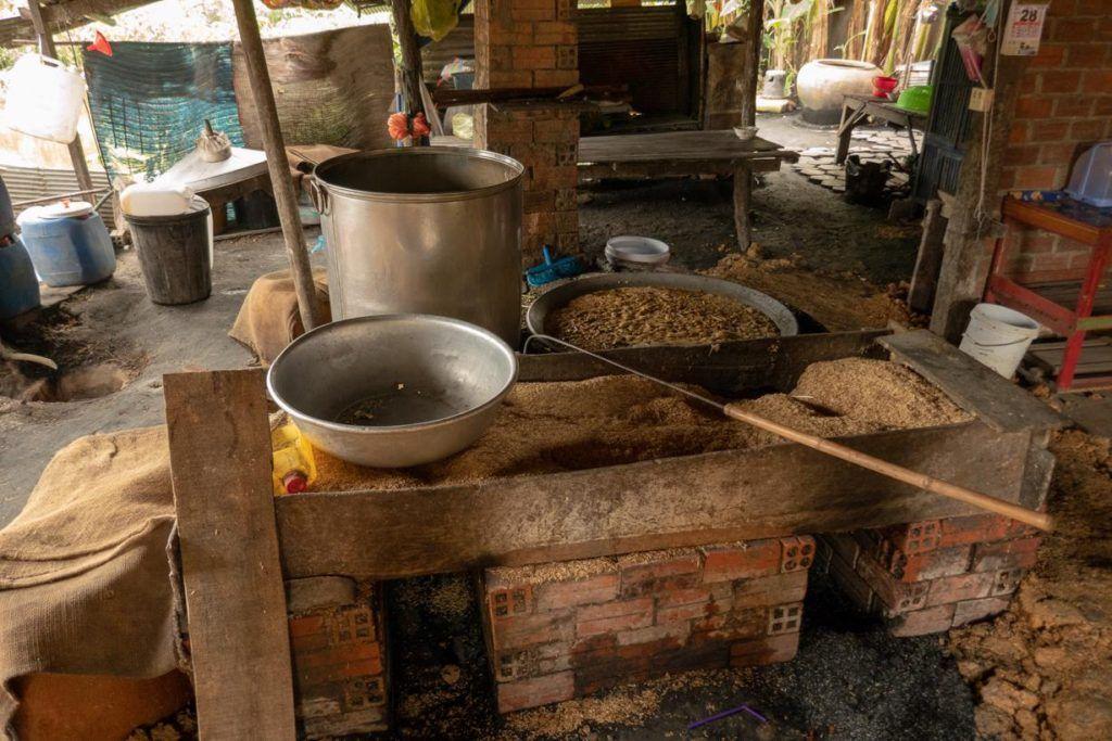 Battambang Tuk Tuk Tour Locally Produced Rice Wine