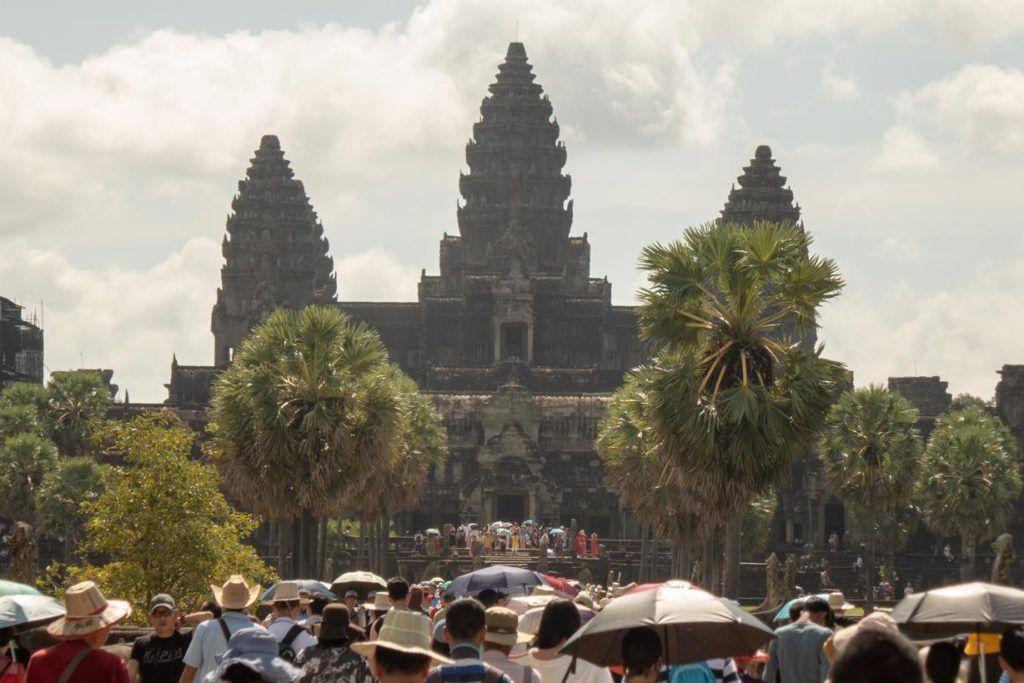 Temples of Siem Reap Angkor Wats 3 towers