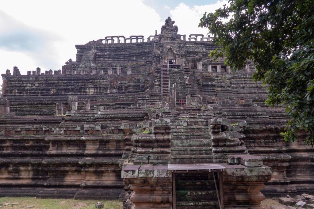 Temples of Siem Reap The three tiered temple of Baphuon