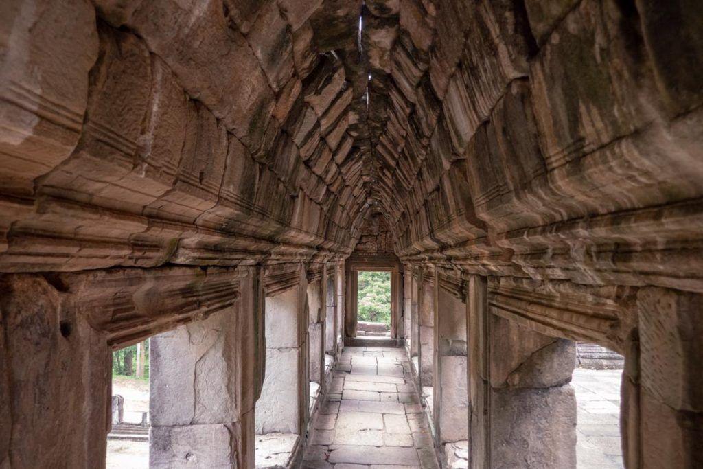 Temples of Siem Reap Passage way