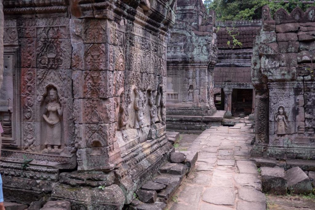 Temples of Siem Reap Preah Khan temple Angkor Archaeological Park
