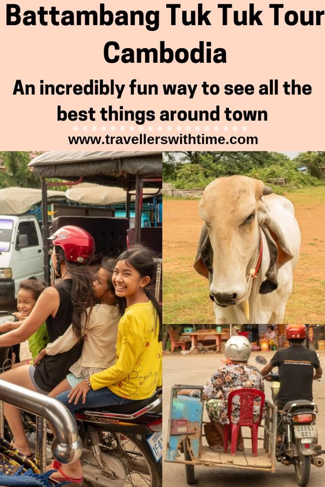 A guide to taking a tuk tuk tour of Battambang #cambodia #travel #temples #caves #thingstodo #travellerswithtime
