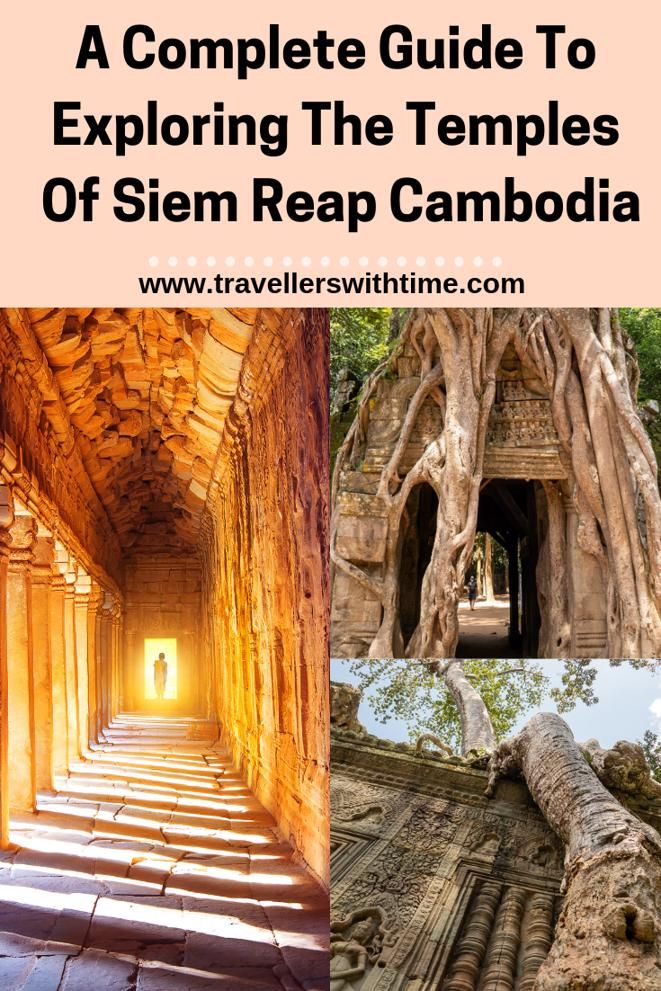 There are so many temples to see in the Archaeological Area at Angkor, so which ones are best? How do you get to them? Click through for everything you need to know #cambodia #angkorwat #temple #travel #architecture #itinerary #travellerswithtime