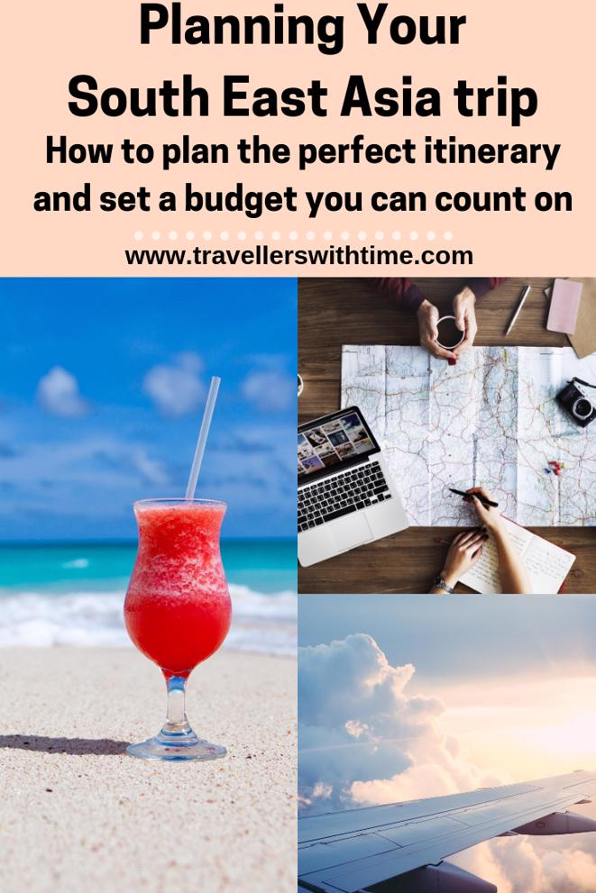 Overwhelmed by where to start when planning your long term trip? This is how we plan all our trips. Its accurate and saves us money! #travel #southeastasia #backpacking #route #travellerswithtime
