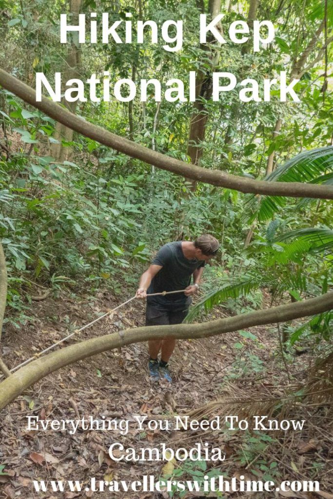 As one of the only places in Cambodia you can hike without a guide, Kep National Park is an amazing place to explore! Here is everything you need to know to plan a great adventure! | Cambodia | Kep National Park | Hiking in Kep |