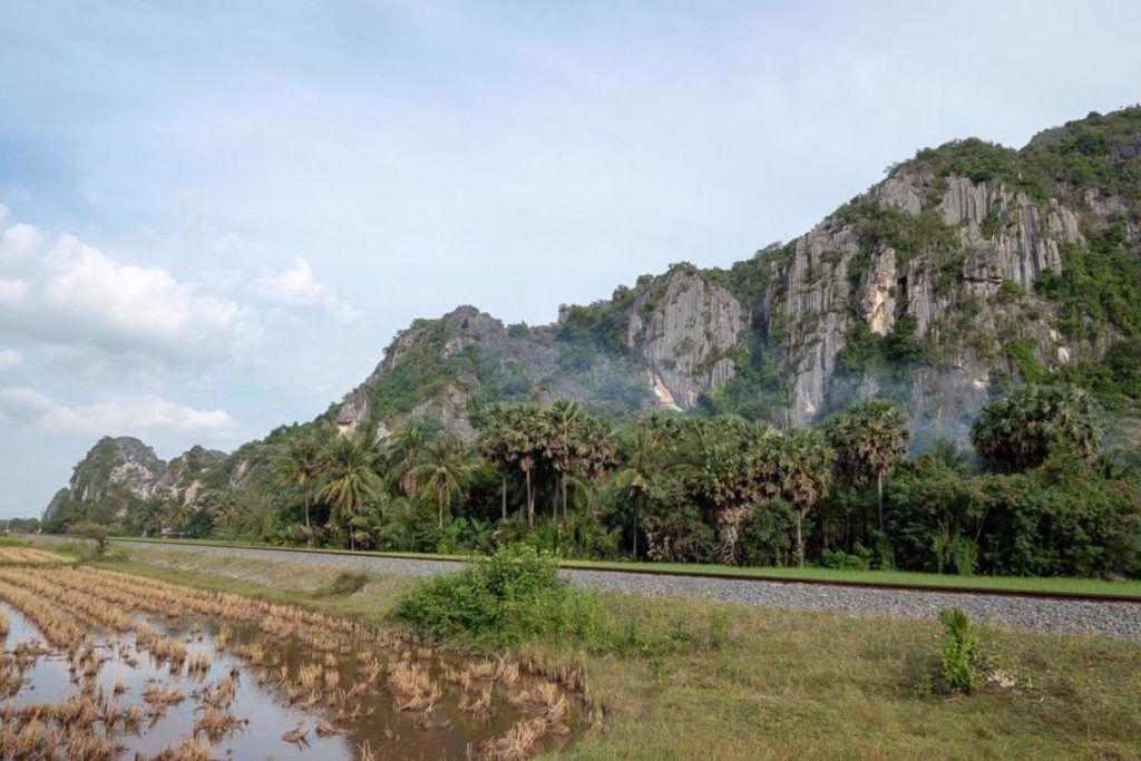 Exploring Kampot Caves Limestone karst kampot caves