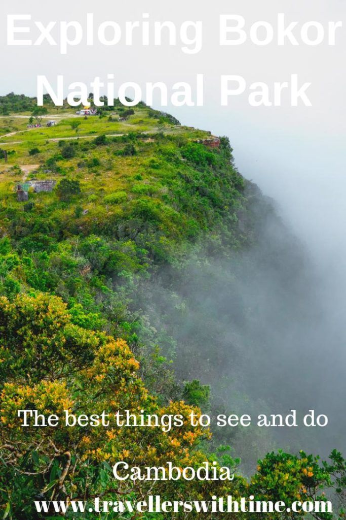 If you're in Kampot, Cambodia, don't miss exploring Bokor National Park and Bokor Mountain. There is an endless number of fascinating things to do | cambodia | kampot | things to do | bokor mountain |