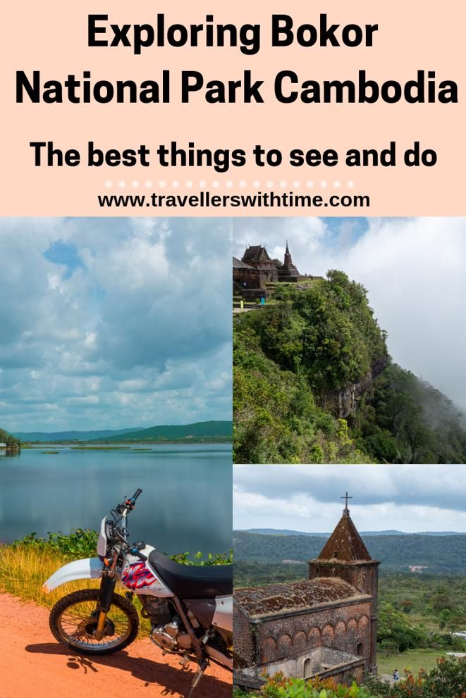 Explore the beautiful Bokor National Park near Kampot in Cambodia. With its temples, ruins and great road for motorcycling, its a great day out #cambodia #travel #bokormountain #ghosttown
