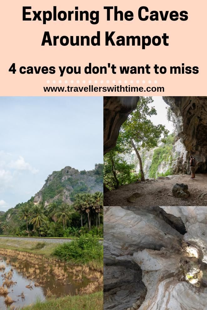 The rustic and dusty town of Kampot is a great little gem in Cambodia. Surrounded by caves and Bokor Mountin, there is so much to do. We'd recommend hiring a motorbike and exploring the caves #kampot #cambodia #travel #caves #travellerswithtime