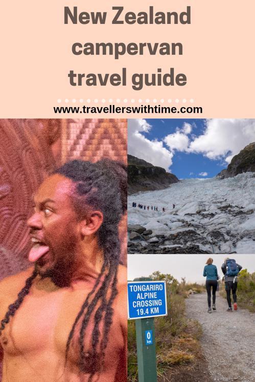 campervan around New Zealand Maori culture, Fox Glacier and Tongorriro Crossing