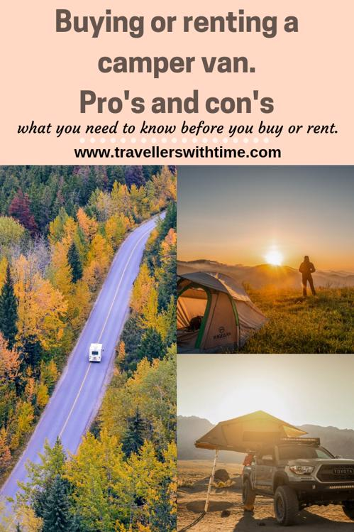 Choosing a camper van - pro's and con's to buying or renting and everything you need to know