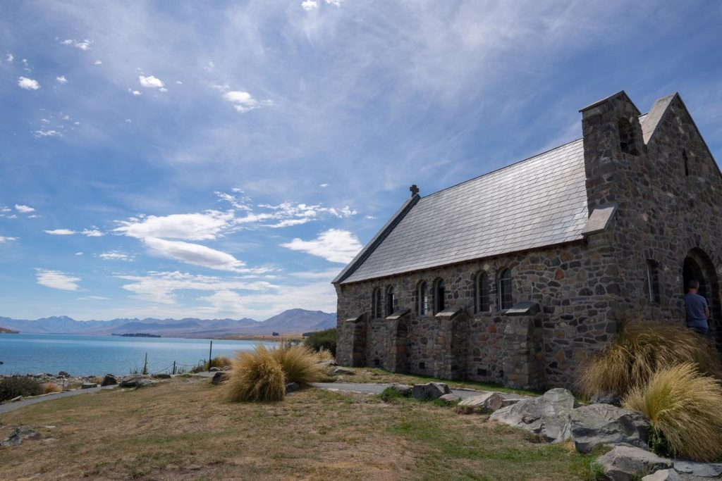 Campervan around New Zealand blog - Church of the Good Shephard, Lake Tekapo, New Zealand South Island