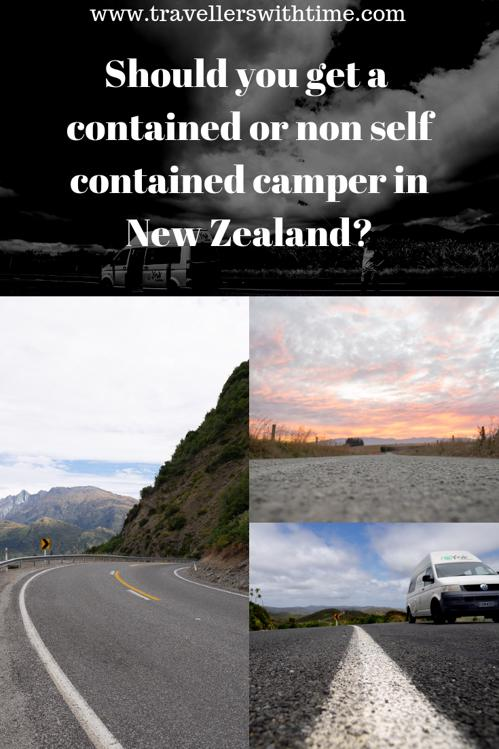 Should you get a self contained or non self contained camper in New Zealand?