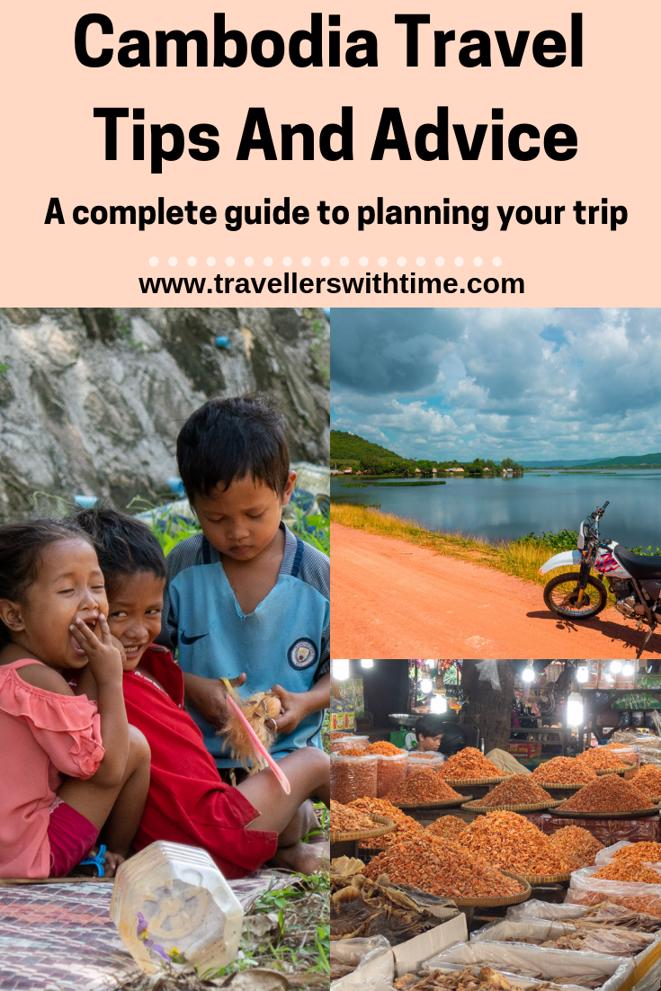 Cambodia travl tips and advice is a  complete guide to travelling in Cambodia. A beautiful country full of culture, there is so much to see and do. #travel #siemreap #beaches #thingstodoin #killingfields #angkorwat #travellerswithtime