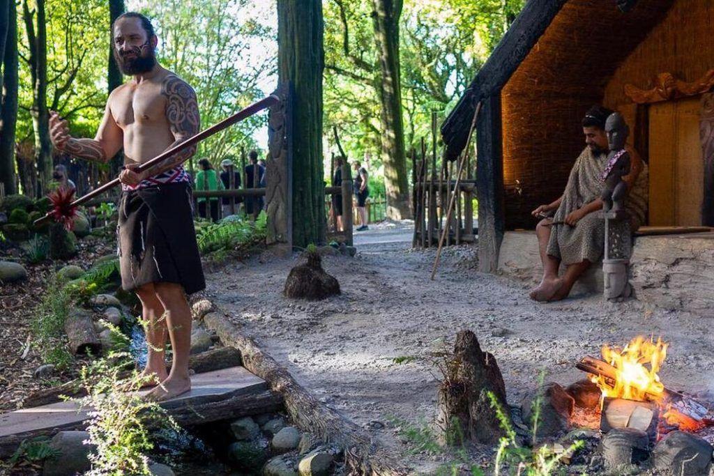 North Island New Zealand, Tamaki Maori Village, show and Hangi Dinner