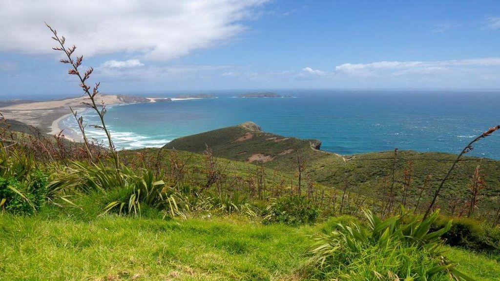 View from Cape Reinga Lighthouse