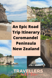 An epic itinerary for road tripping the spectacular Coromandel Peninsula on New Zealands North Island. Visit beautiful beaches, rustic small towns, hot springs and more #newzealand #travel #roadtrip #coromandelpeninsula #thingstodoin