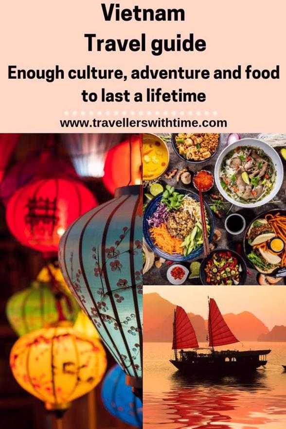 A comprehensive Vietnam Travel Guide containing everything you need to know to plan an amazing Vietnamese adventure! #vietnam #travel #tips #guide #placestovisit #thingstodoin #beaches #travellerswithtime