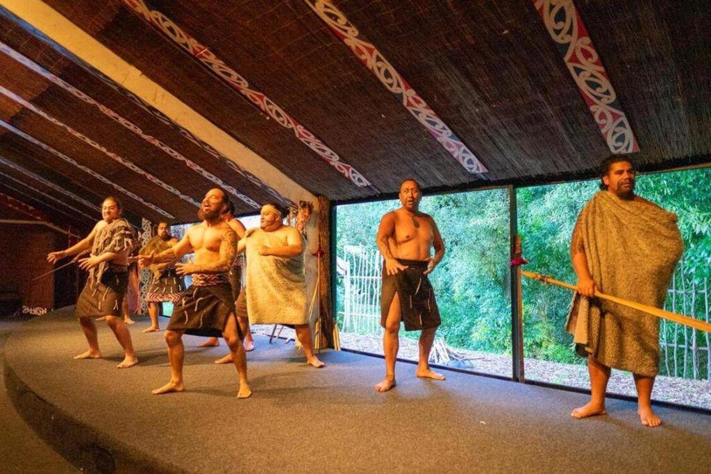 Things to do in Rotorua New Zealand includes Tamaki Maori Village live show