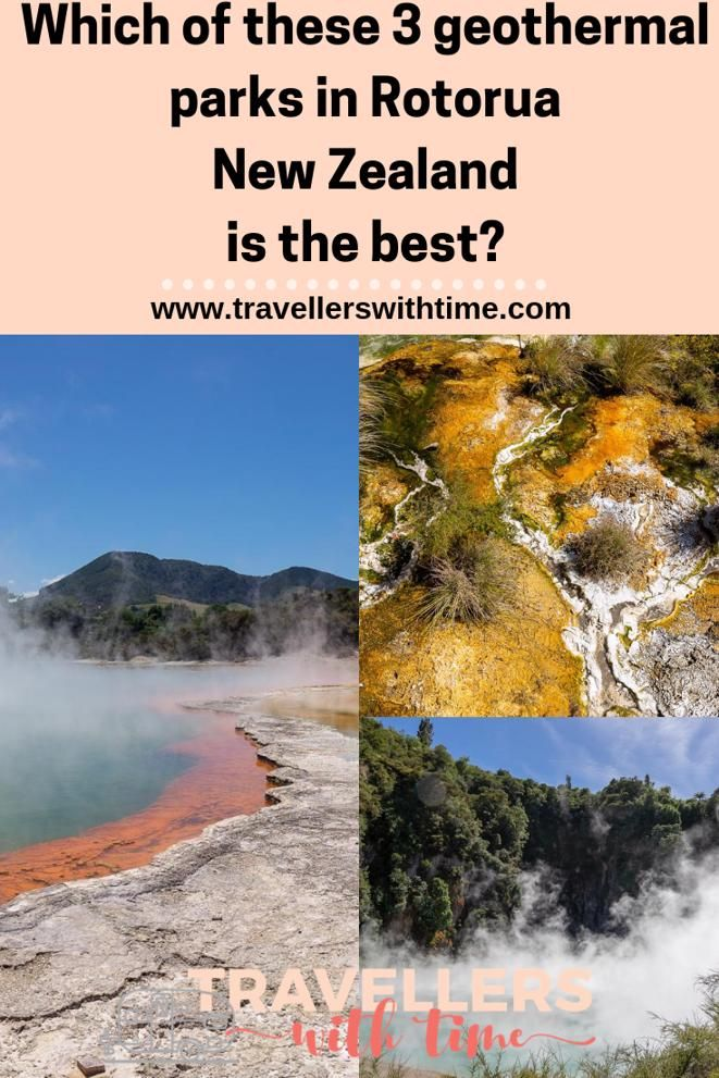 There are 3 main options to choose from when it comes to geothermal parks in Rotorua NZ, so which do you choose? We'll break down their differences, the highlights and low lights and all the info you need so you can choose #newzealand #hotsprings #travel #rotorua #travellerswithtime
