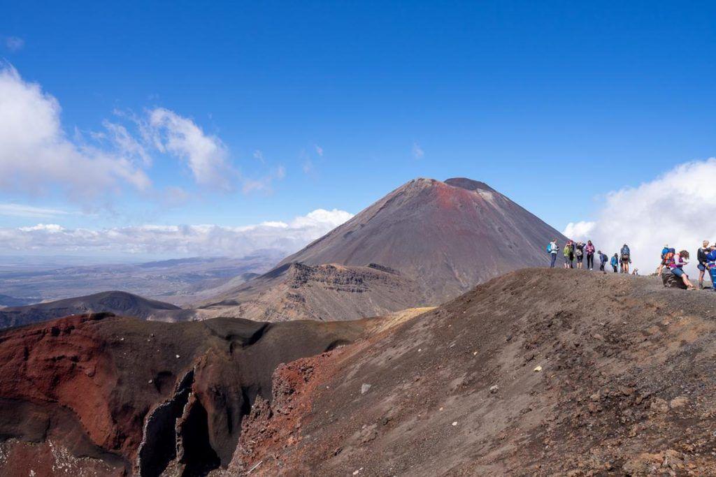 The Red Crater. Tongariro Crossing, Tongariro, New Zealand