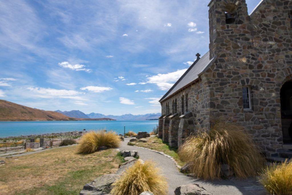 Church of the Good Shephard, Lake Tekapo, self drive tour from Christchurch