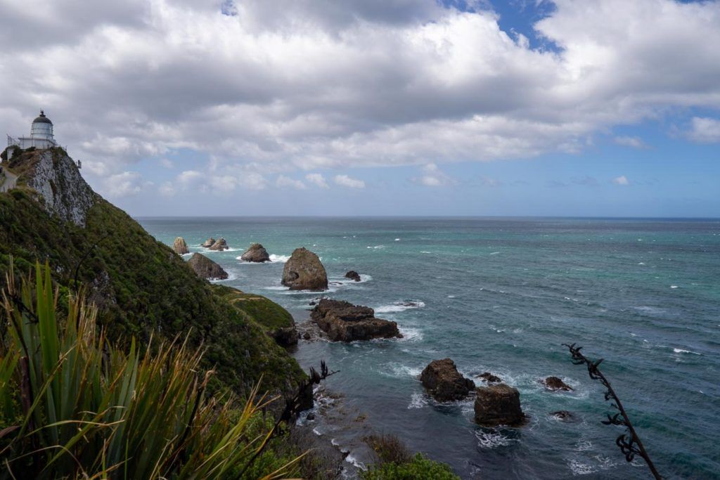 Nugget Point Lighthouse, Catlins, South Island, New Zealand