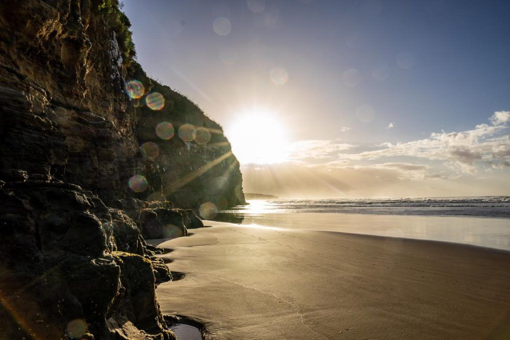 Cathedral Cave in the Catlins