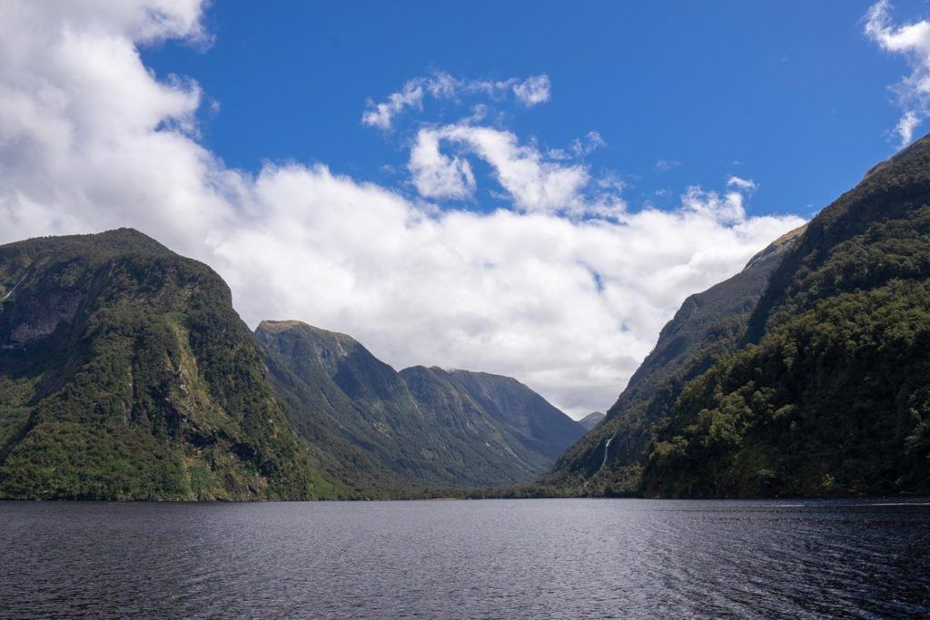 Openness of Doubtful Sound
