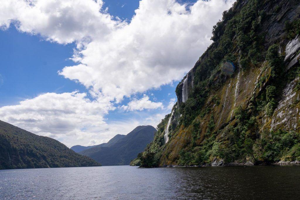 Doubtful Sound vs Milford Sound: So many waterfalls at Doubtful Sound