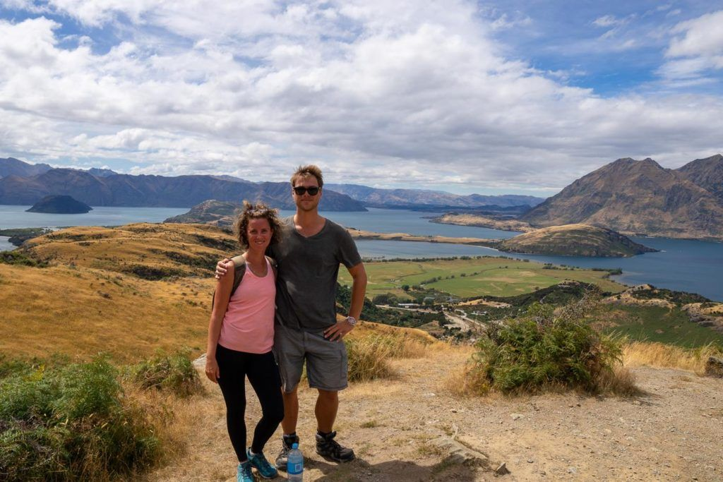 View over Wanaka New Zealand