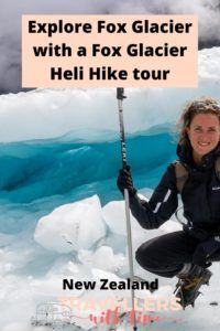 If you've ever wanted to know what its like to walk on a glacier, or tick it off your bucket list, here is all the information you need for a fantastic adventure on Fox Glacier in New Zealand #foxglacier #newzealand #hike #newzealandwestcoast #helicopter