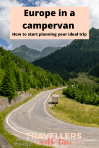 A complete guide to the first stages of planning a campervan trip around Europe including all the things you need to think about before you leave home! #europe #campervantrip #travel #campervantravel #europebycampervan