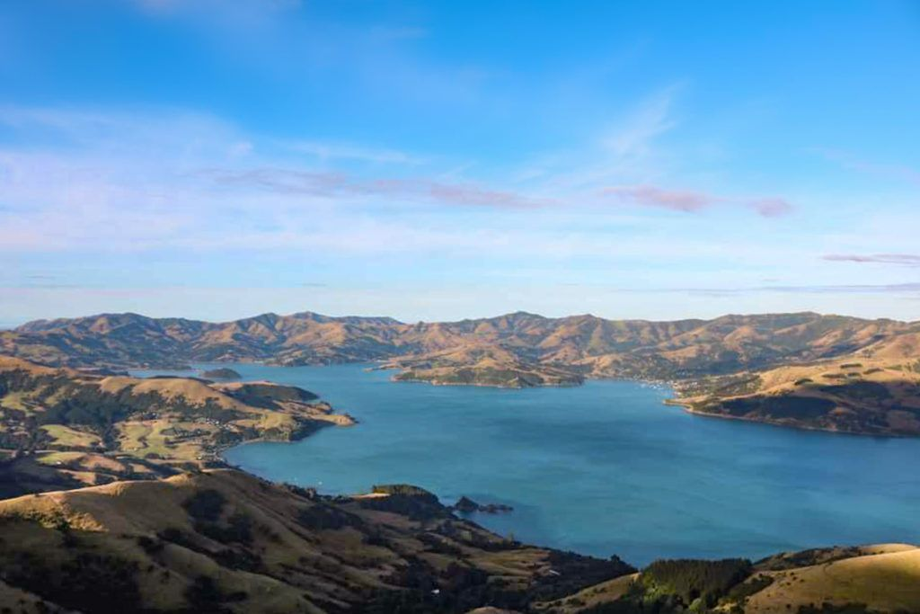 Akaroa is a small town located in with beautiful Banks Peninsula