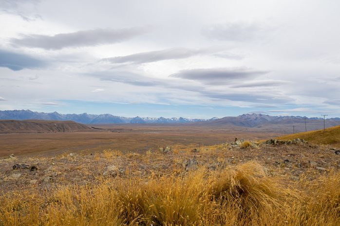 Views of the Tekapo regions on the drive between Christchurch and Queenstown. An unmissable New Zealand road trips